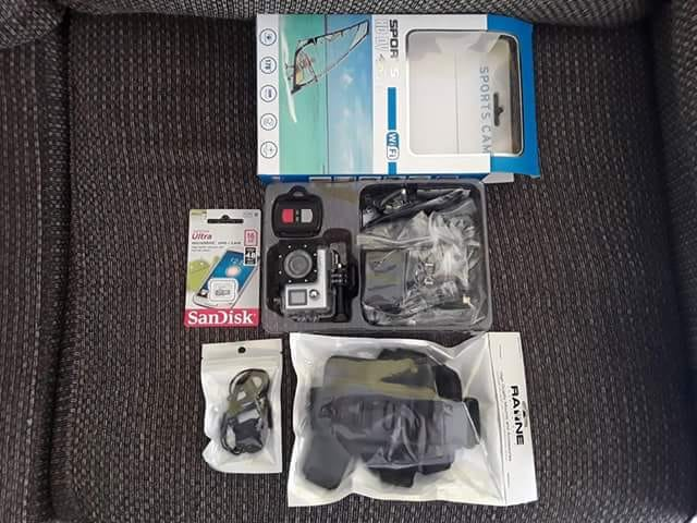 Brand new action camera