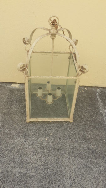 Light fitting Shabby Chic Heavy indoor or outdoor light