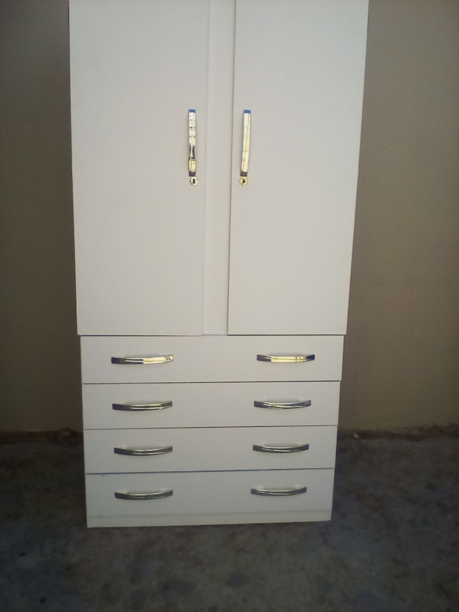 new white wardrobe