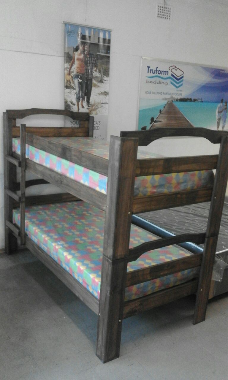 DOUBLE BUNKS WITH MATTRESSES FOR R2600-( SPECIAL OFFER FOR 1 WEEK ONLY )
