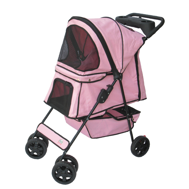 Go Pet Club Pink / Blue Pet Stroller
