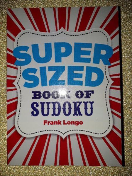 Super Sized Book Of Sudoku - Frank Longo.