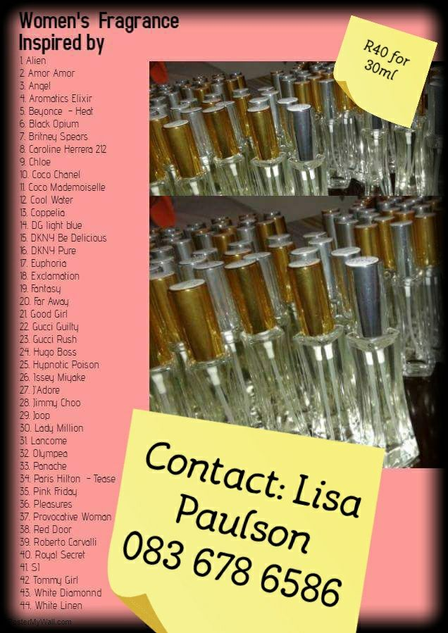 Perfume for Ladies & Gents
