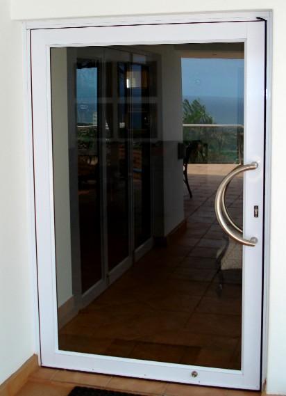 Aluminium doors, windows and shower doors.   Junk Mail