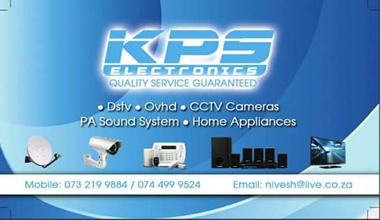 KPS Electronics - Quality Service Guaranteed - Supply and Installation