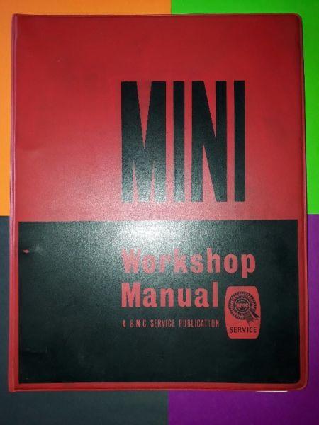 Mini - Workshop Manual - A B.M.C. Service Publication.