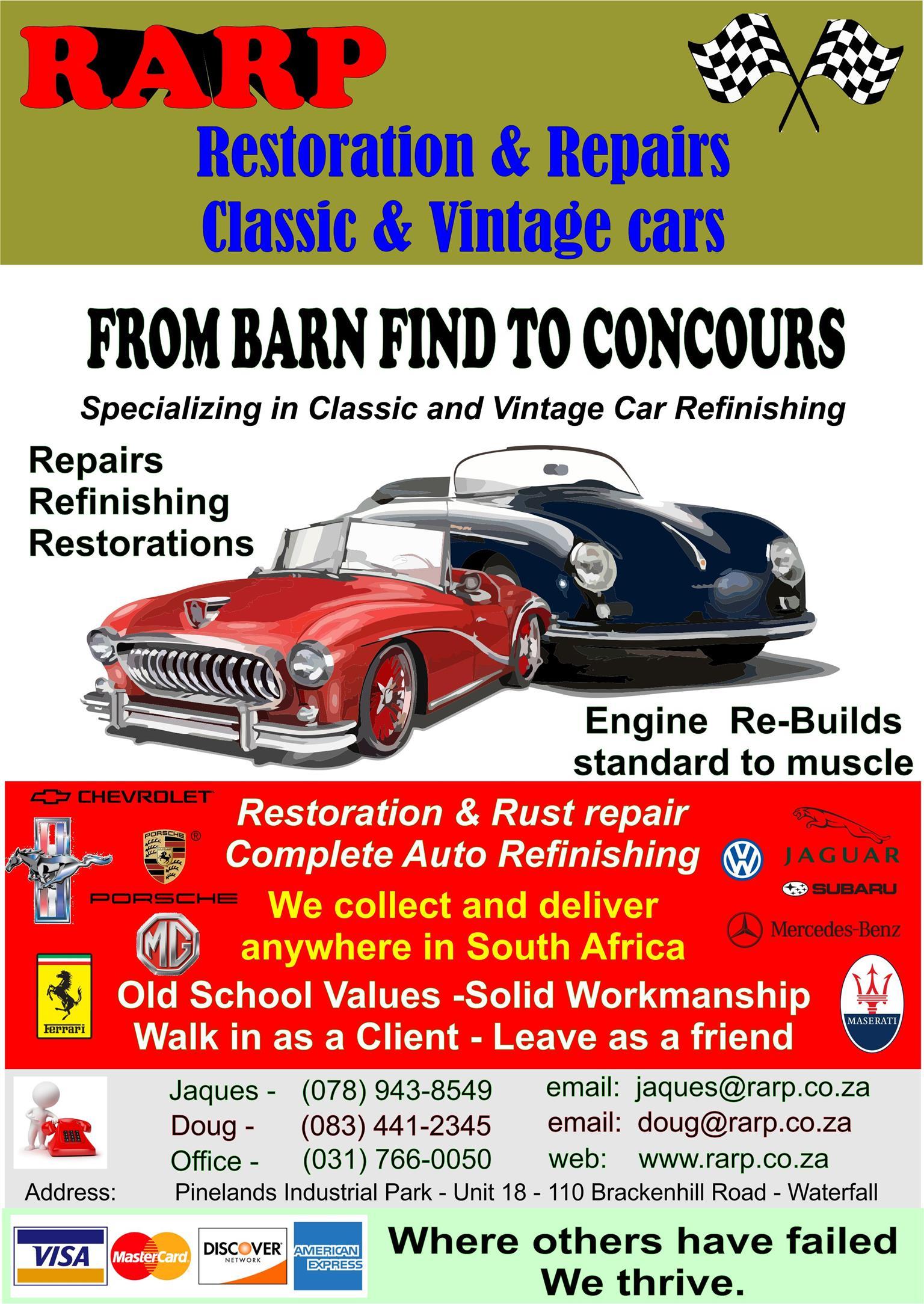 Classic Cars Restorations