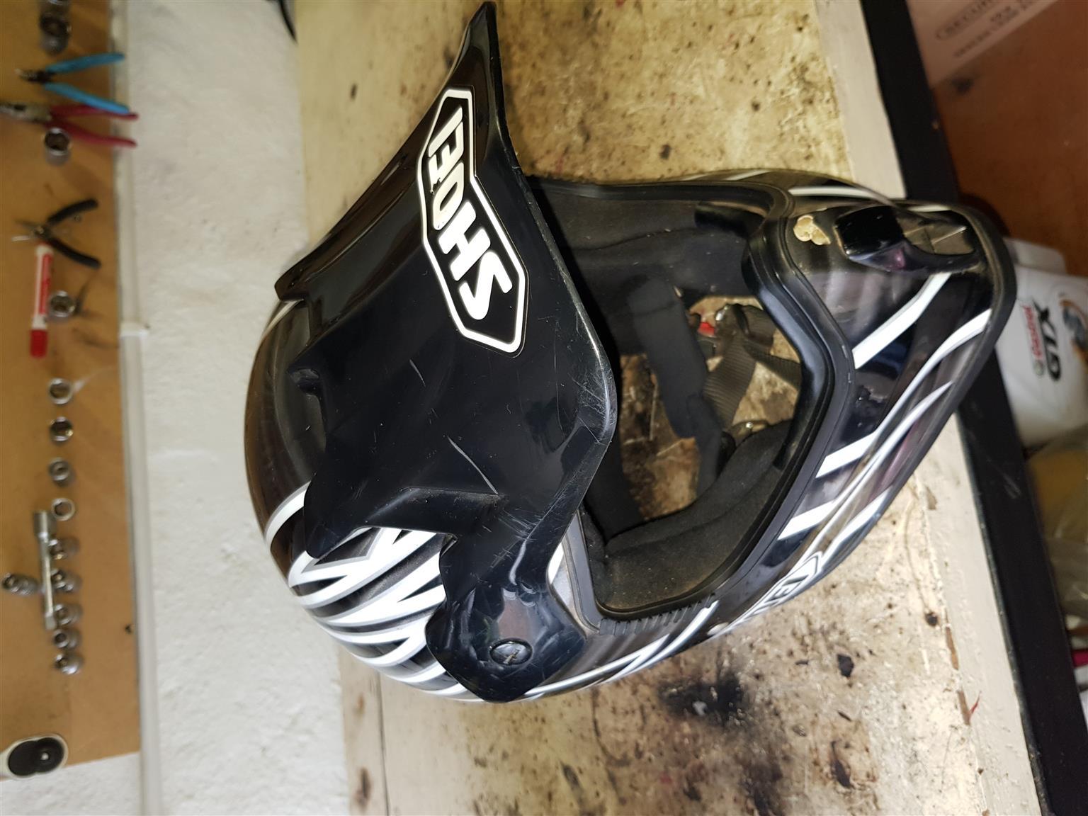 Off road motor bike helmet