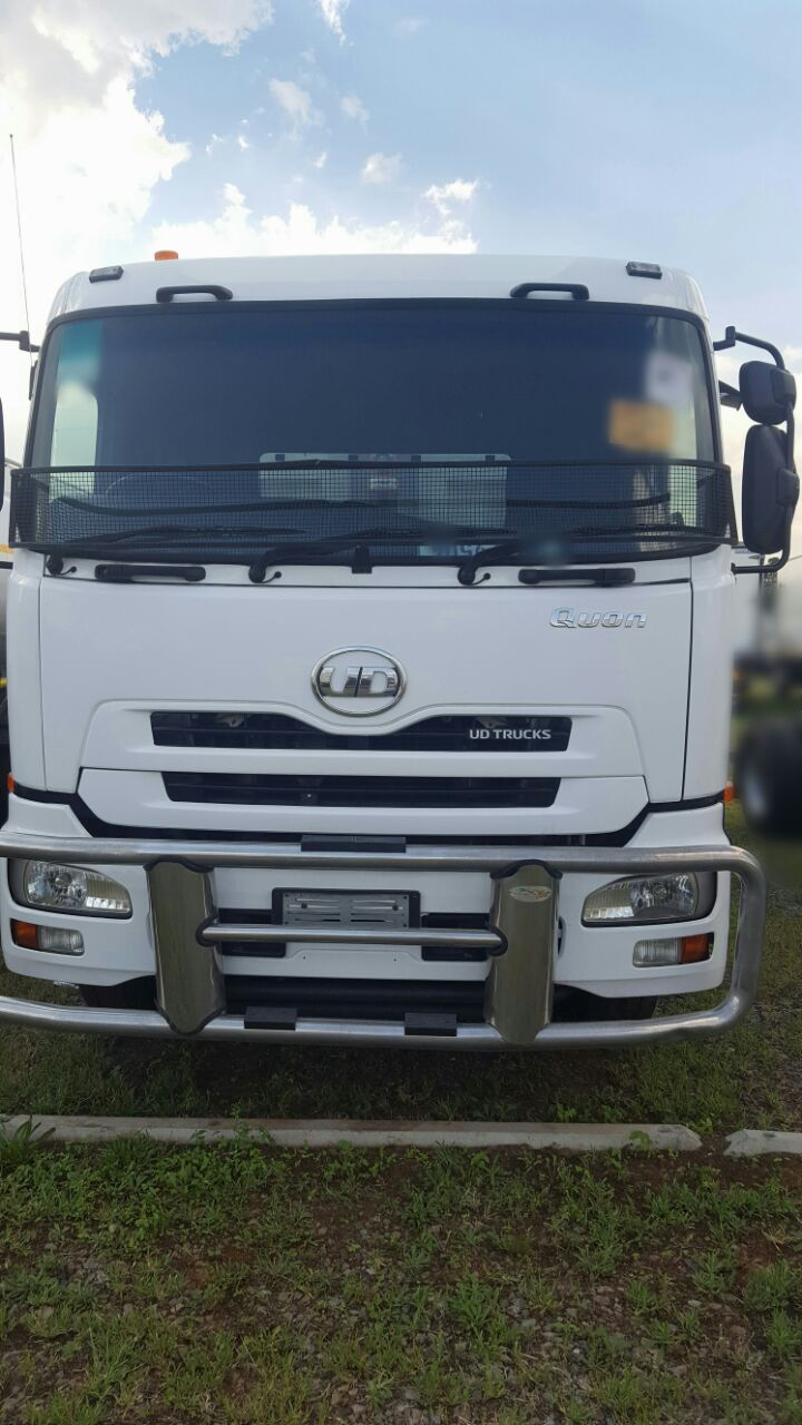 2013 Nissan UD GW 26-410 Quonn 12cube tipper truck for sale.