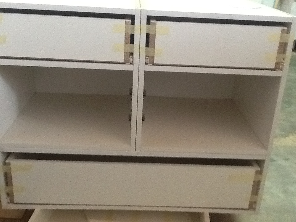 Kitchen cupboards in all shapes and sizes