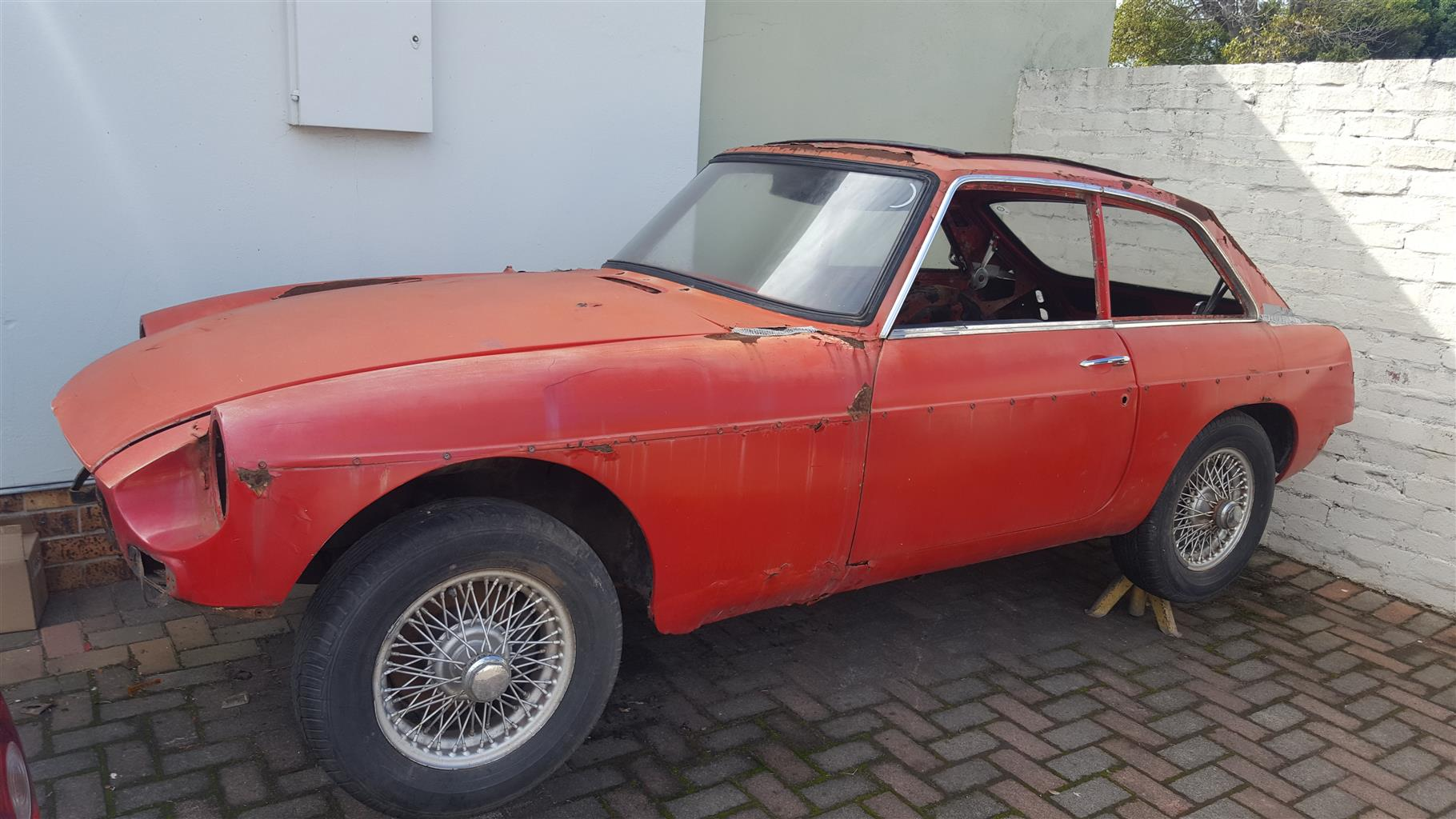1967 MG MGB/GT | Junk Mail