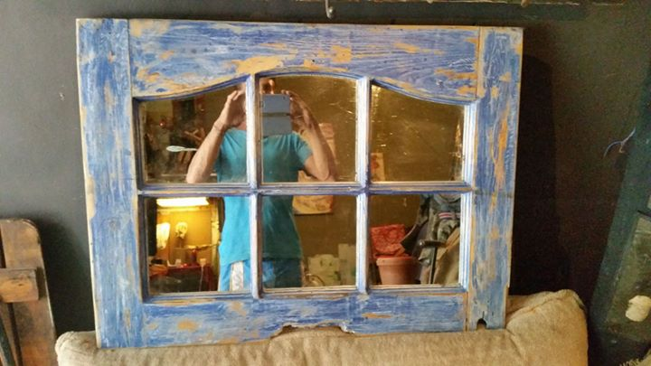 Door frame mirror