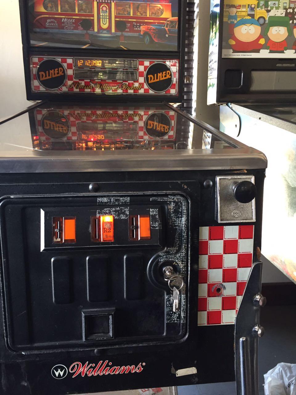 We buy pinball machines