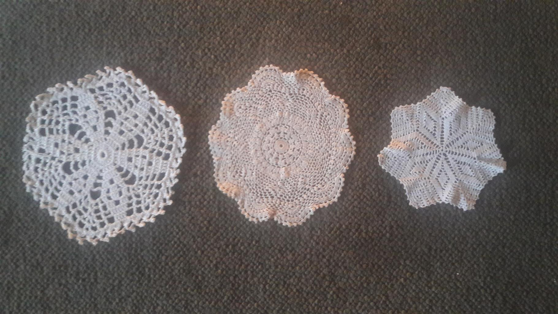 Crochet items / Gehekelde lappies