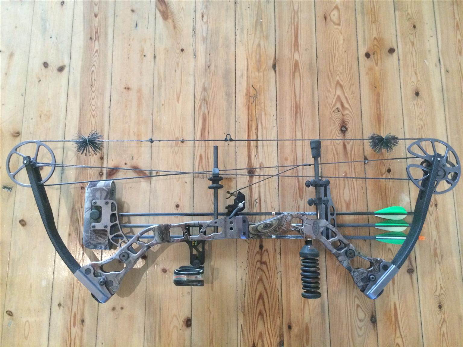 ROSS CARDIAC 34 Compound Bow