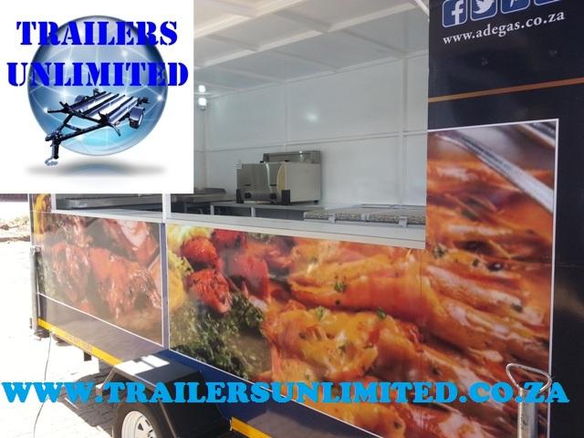 Mobile Food Trailer 4500 x 2000 x 2001