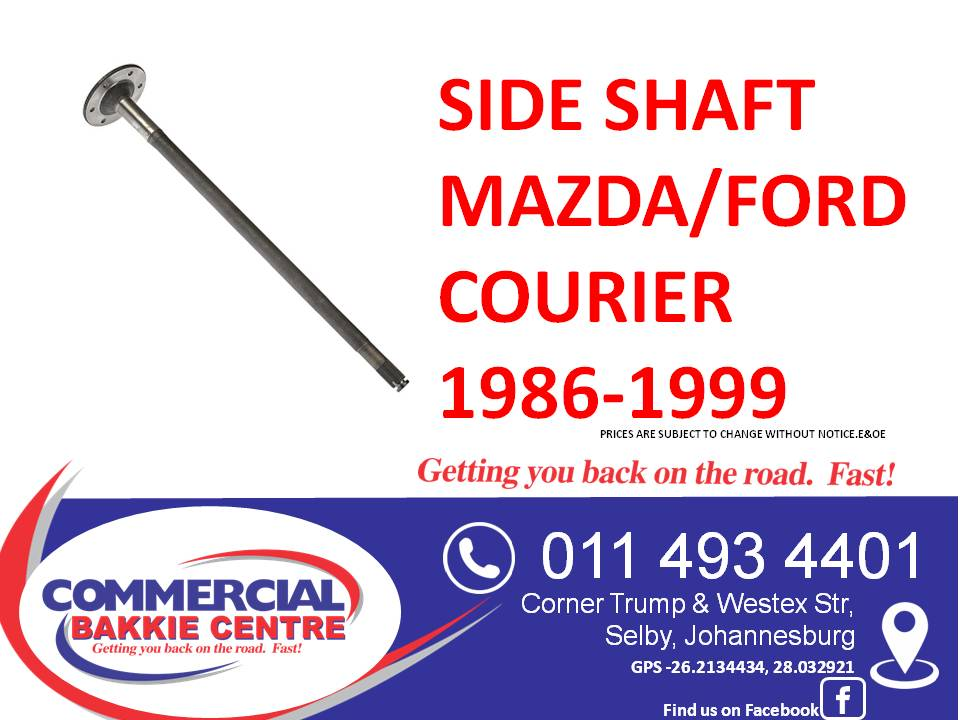 side shaft mazda/ford courier 1986-1999