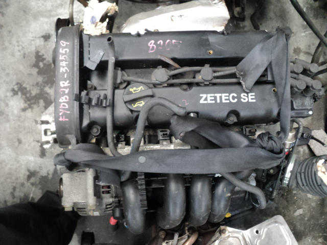 ford focus-fiesta 1.6 16v zetec engine (FYDB) - R7950