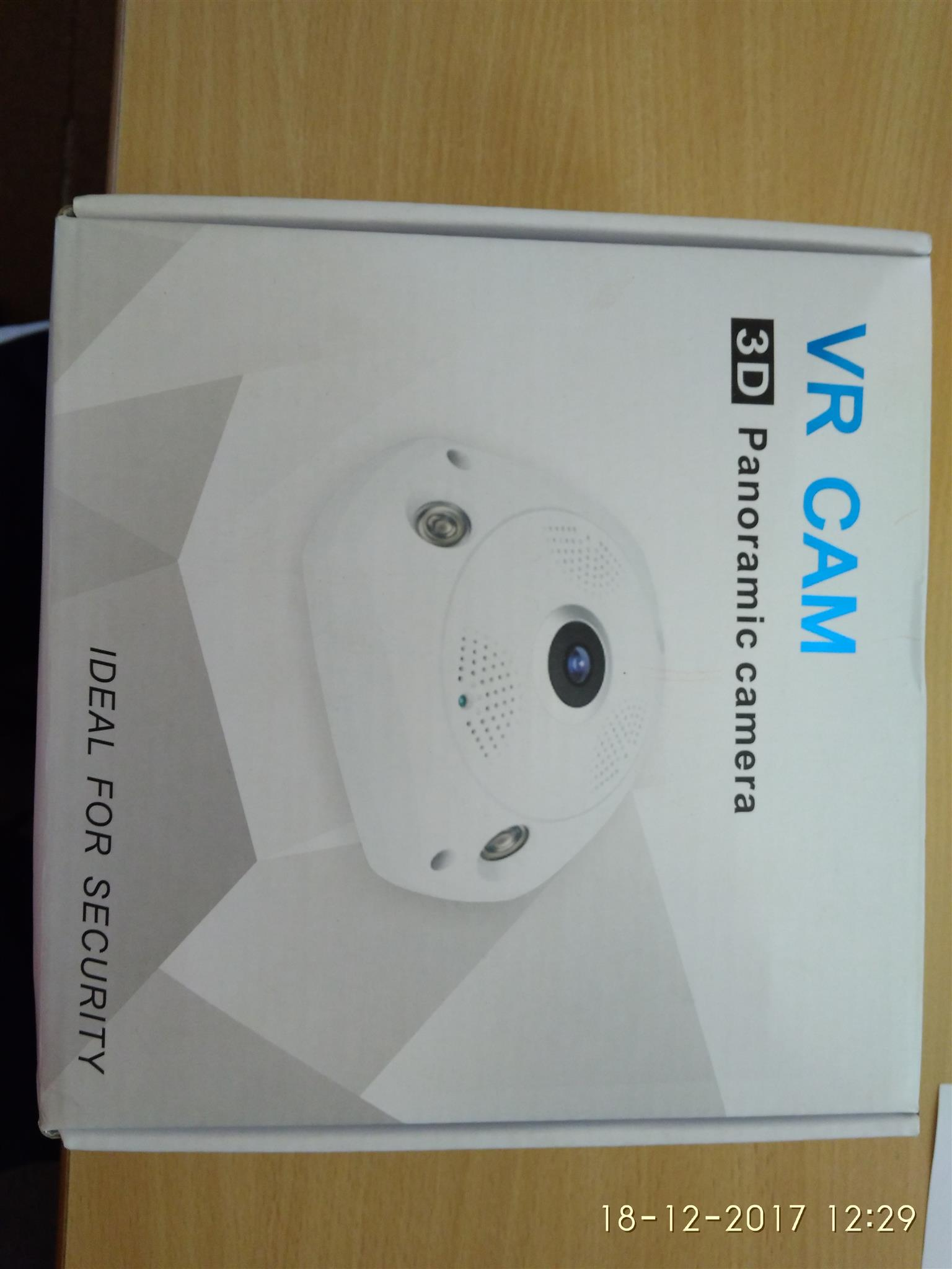 VR Cam 3D Panoramic Camera