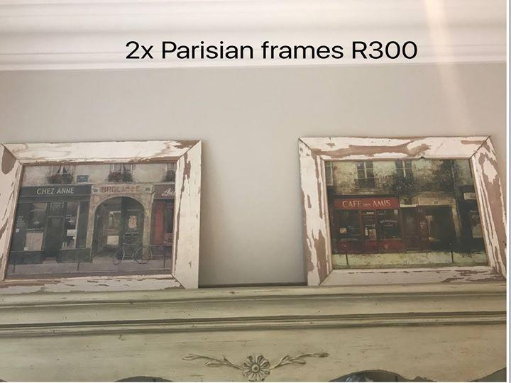 2 Parisian frames for sale