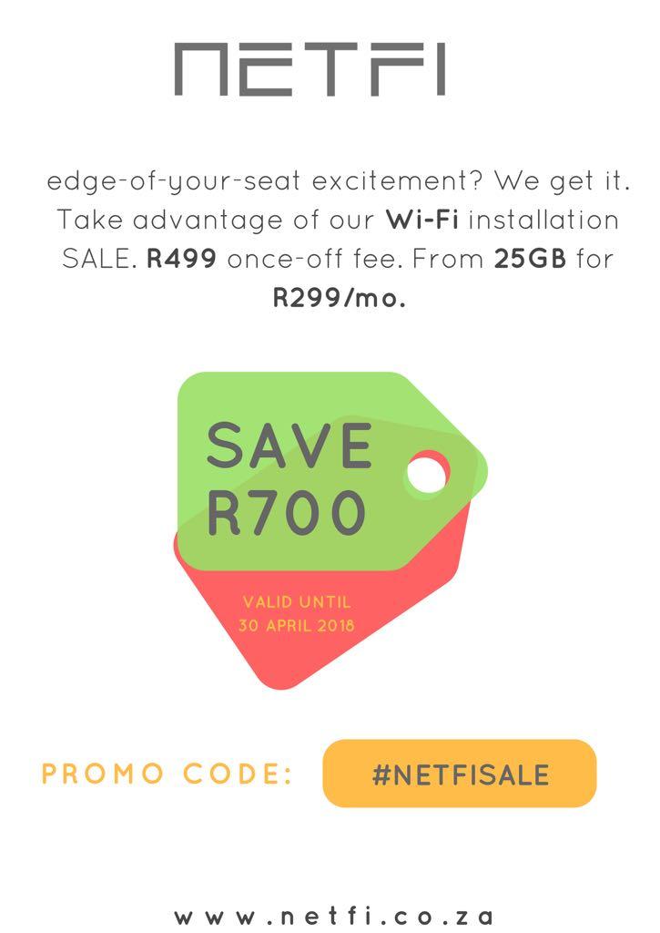 NETFI.co.za - Internet for Dreamers