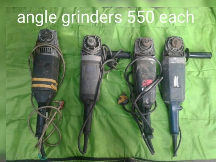 Angle grinders for sale