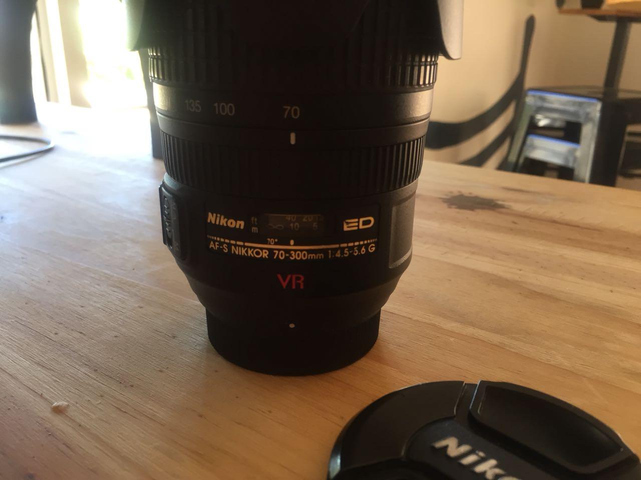 Nikon AF-S 70-300mm f/4.5-5.6 G IF-ED VR Lens For Sale