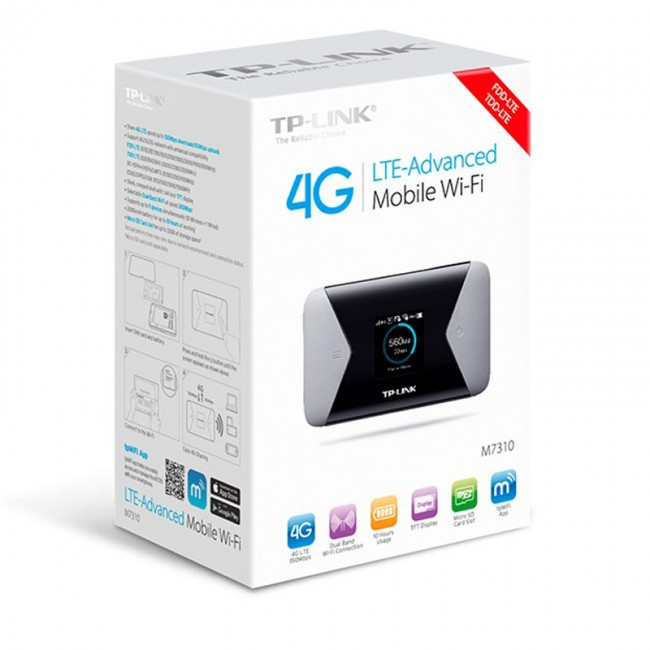 TP-Link M7310 4G LTE Mobile MiFi Router [M7310] The Faster Connection