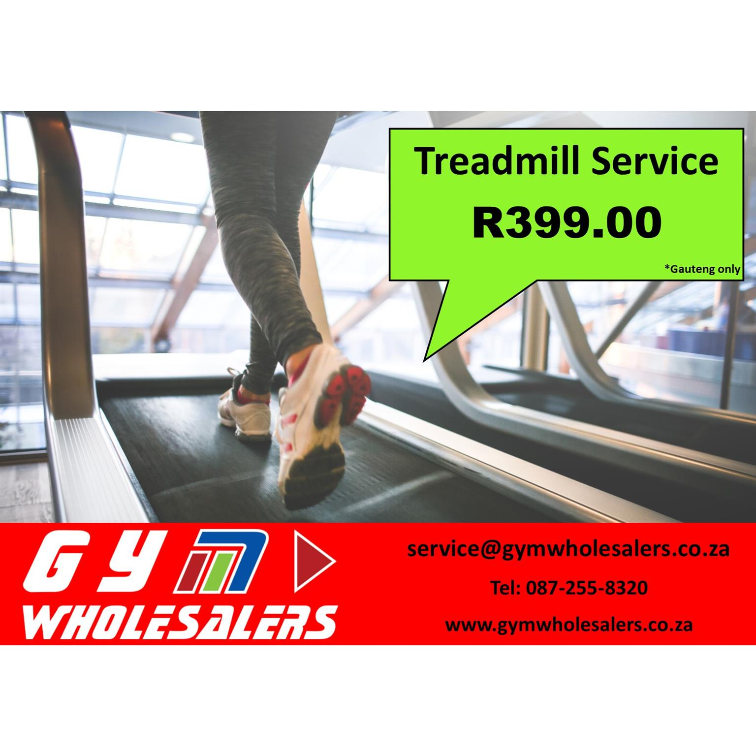 R399 Treadmill Service