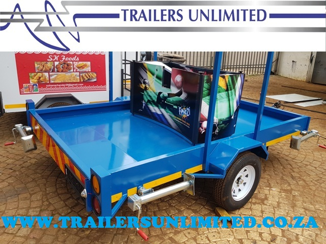 TRAILERS UNLIMITED CUSTOM BUILD TO YOUR NEEDS.