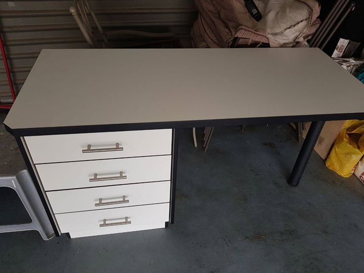 Desk with drawers for sale