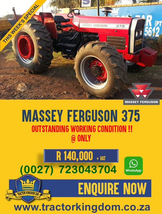 Second Hand Massey Ferguson 375 Tractor