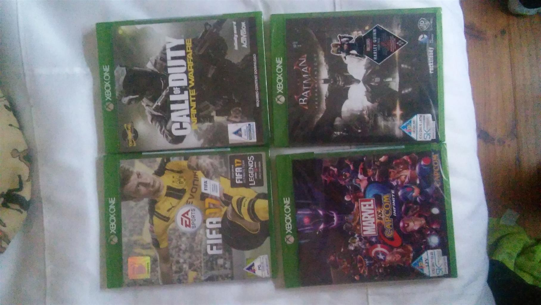 Xbox One games (still sealed)