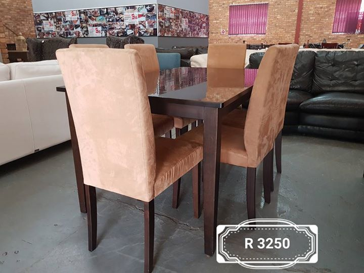 Dining suite 6 seater