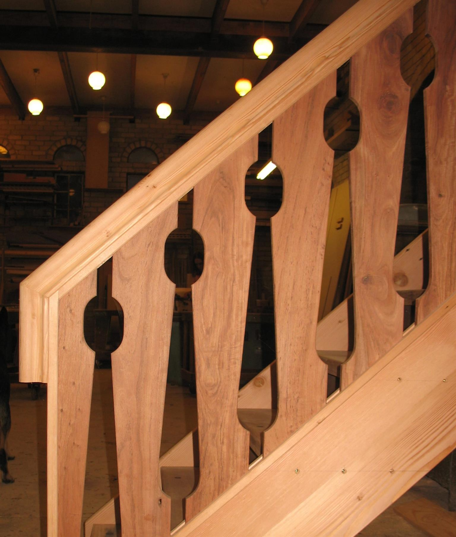 Balustrade and Staircases Custom made.