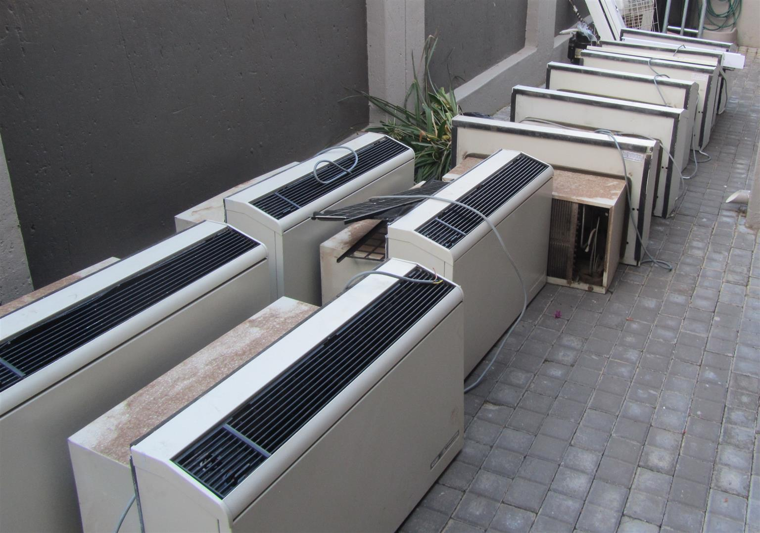 AIR CONDITIONERS - REFURBISHED DEFY SILHOUETTE CONSOLE UNITS