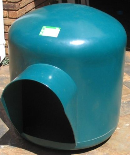 Igloo Dog Kennel Green XXL