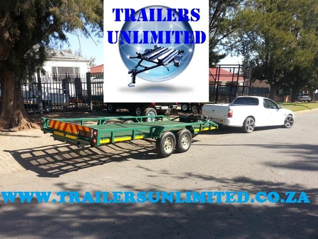 CAR TRAILERS 5000 X 2000 X 200 MESH DECK.
