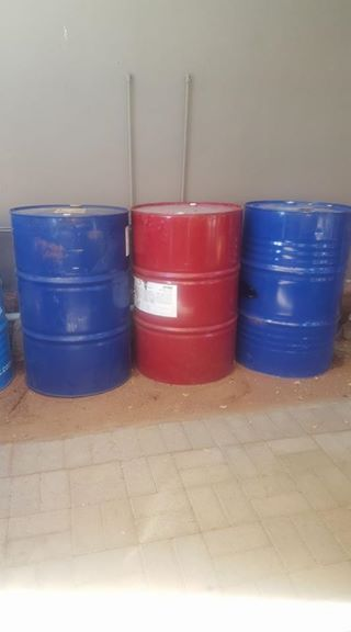 210 liter staaldromme