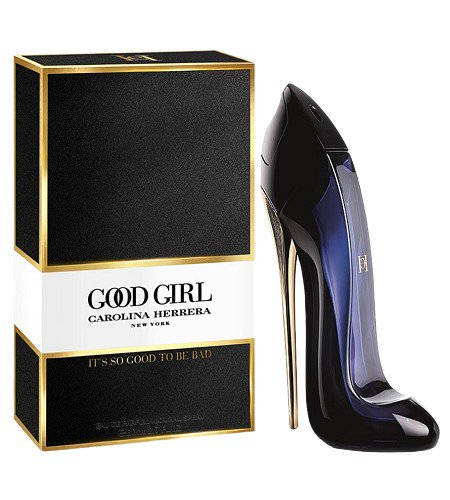 Carolina Herrera GOOD GIRL 80ml ( *Black* Bottle shaped like High Heel)