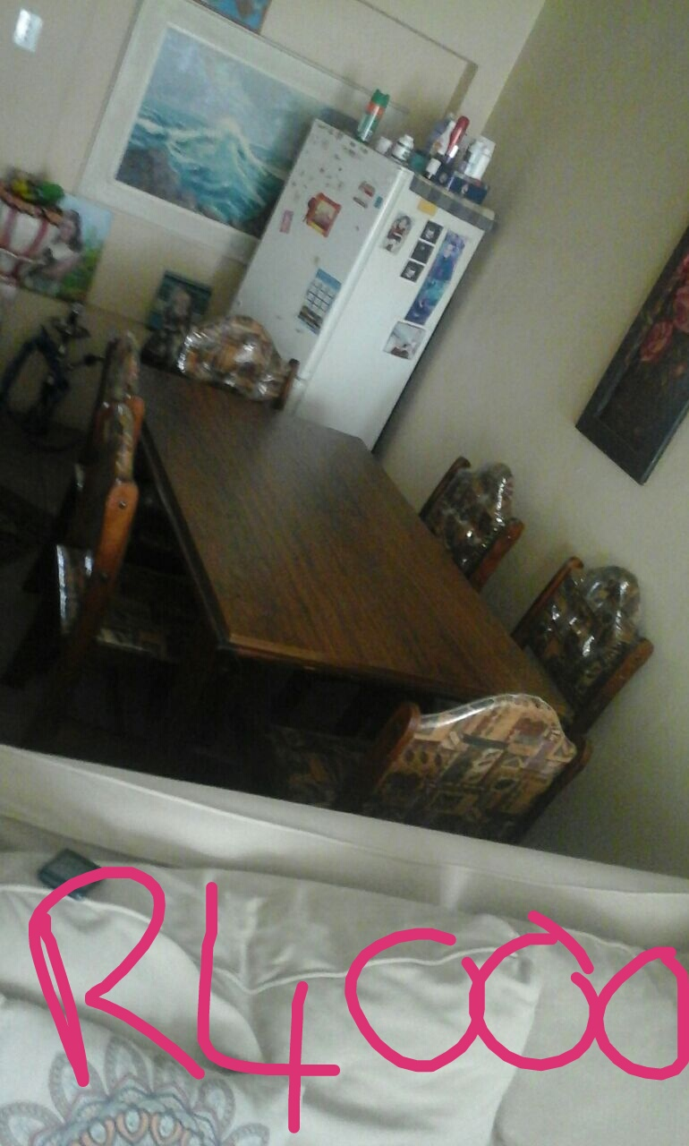 6 seater dining room table and 3 seater couch for sale