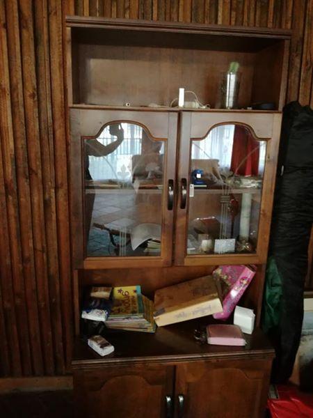 Wooden side cupboard for sale