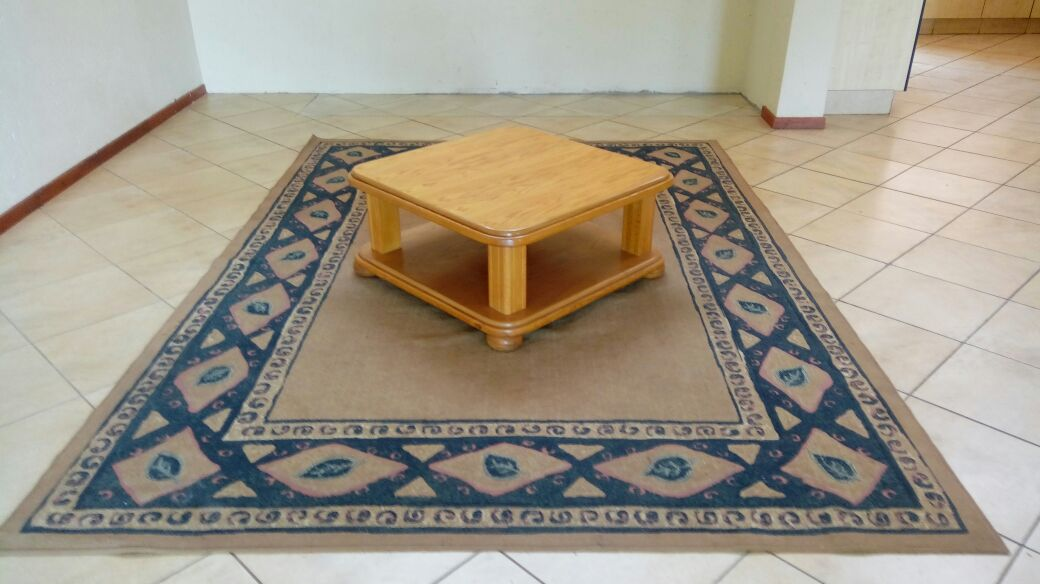 Carpet AND TABLE