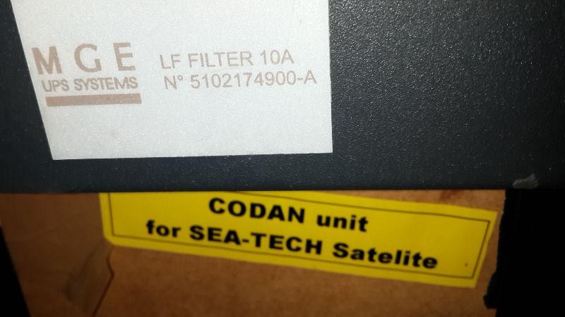 MGE UPS system filter