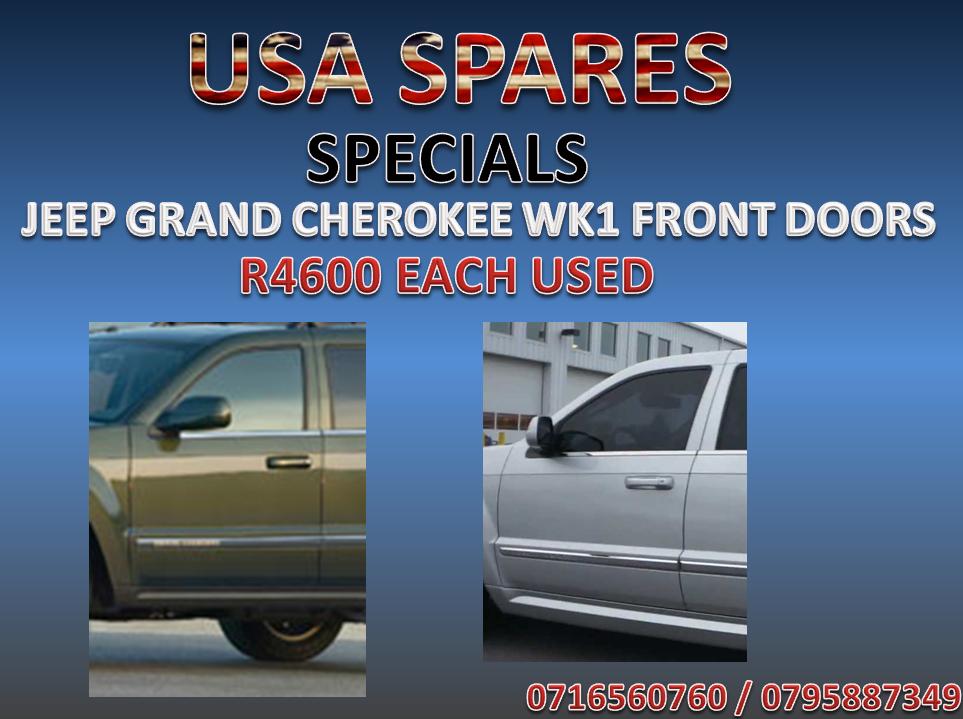 JEEP GRAND CHEROKEE WK1 FRONT DOORS SPECIAL