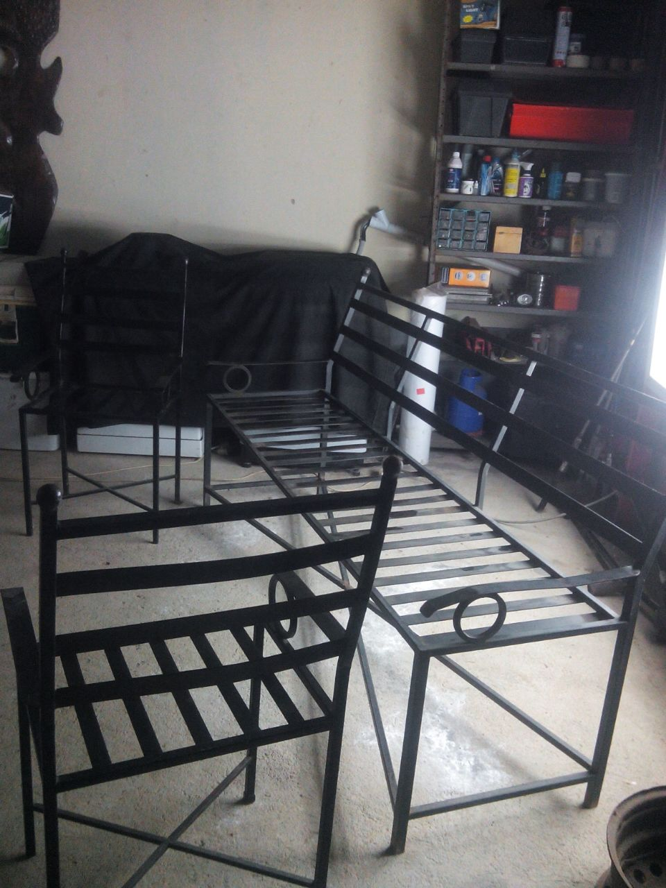 Designer iron suite for sale
