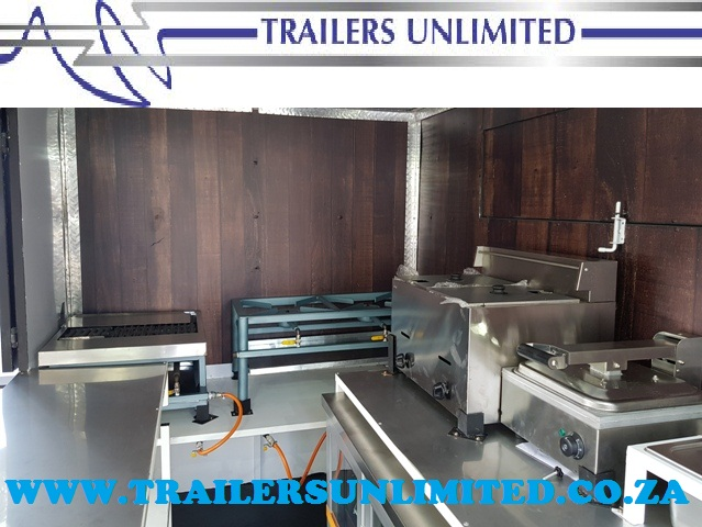 TRAILERS UNLIMITED MOBILE KITCHEN FROM R19900
