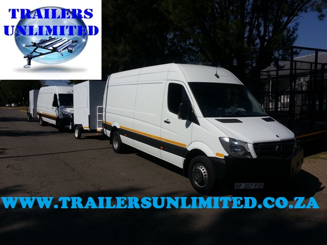 2500 X 1800 X 2000 Enclosed Trailer