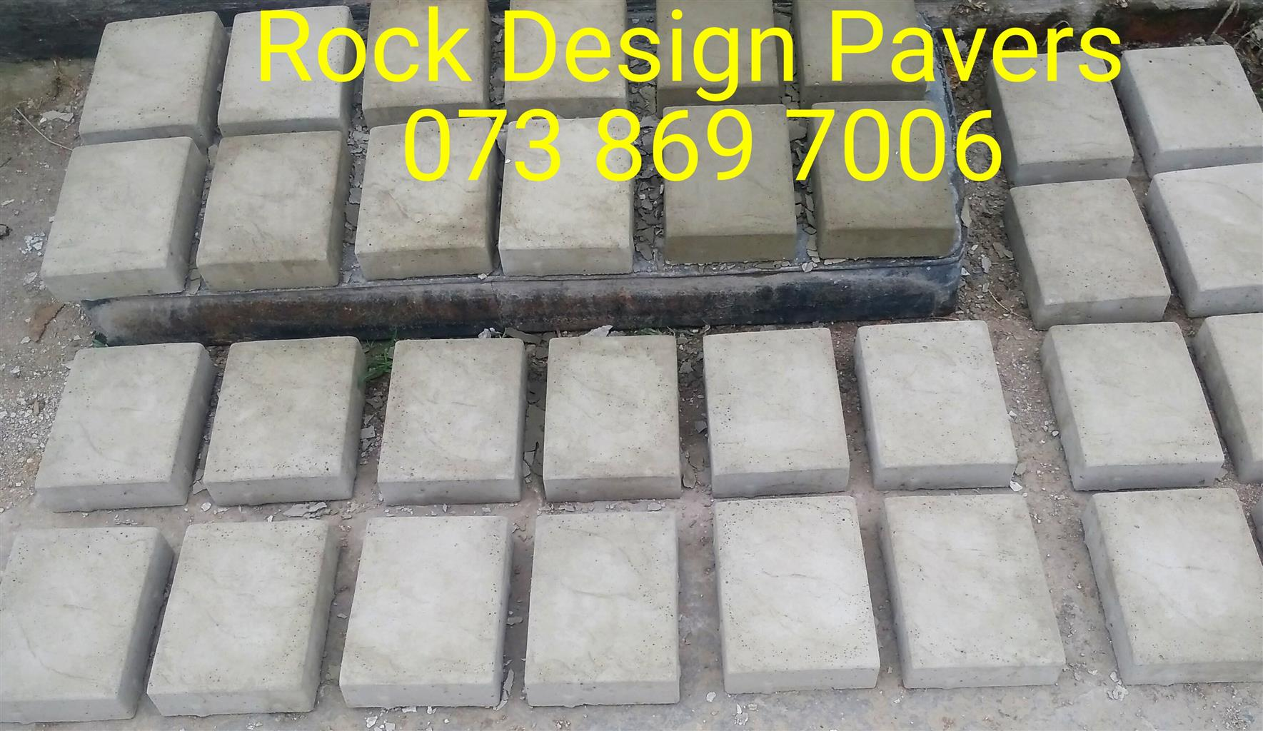New Garden Pavers to clear