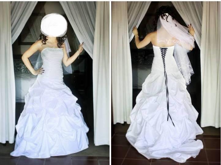 Princess wedding dress Size 8/10